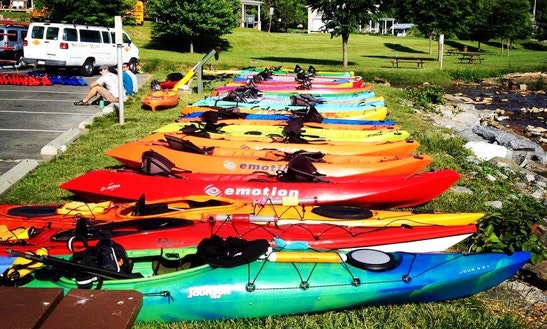Triple Kayak Rental In Lower Windsor Township