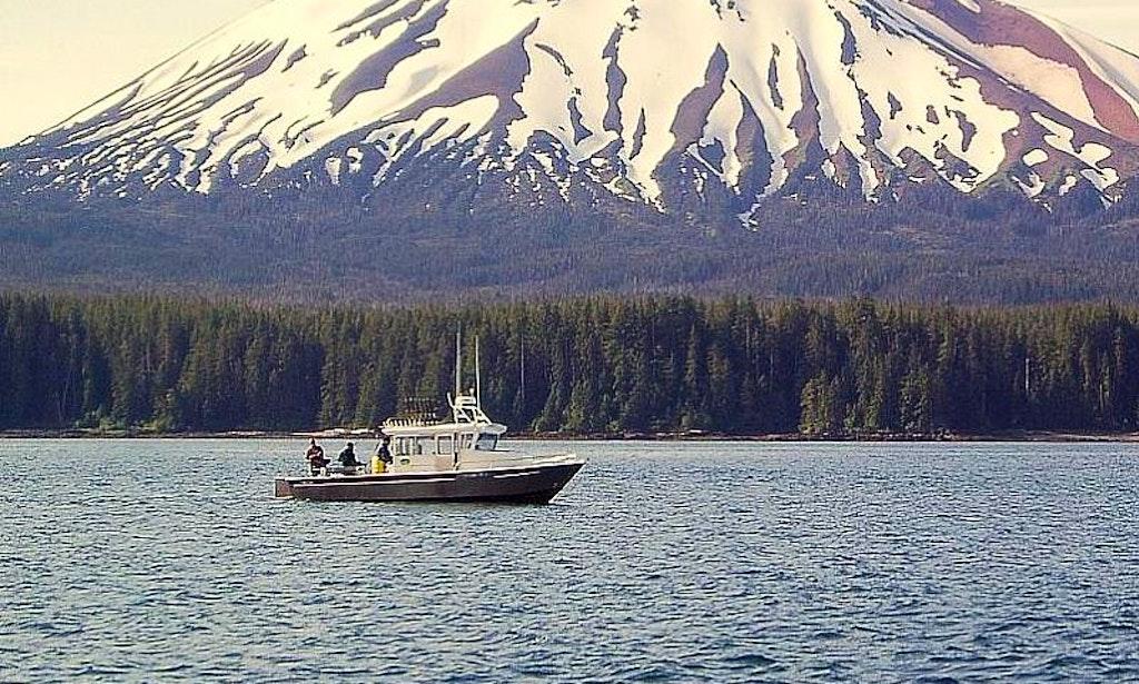 30ft almar trawler fishing charter in sitka alaska for Sitka alaska fishing charters