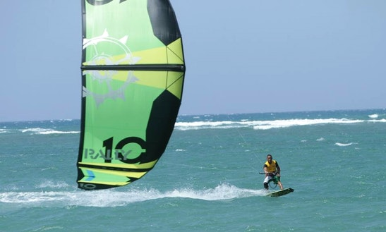 Kiteboarding Lesson In Cabarete