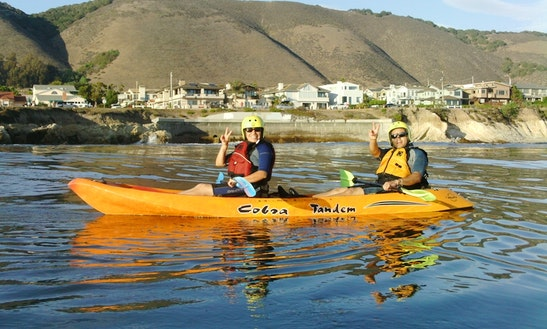 Tandem Kayak Rental & Tours In Pismo Beach