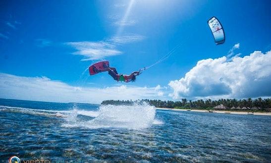 Kiteboarding In Kecamatan Lhoknga, Indonesia