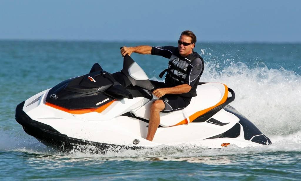 SeaDoo RXT Jet Ski Hire in Cabourg