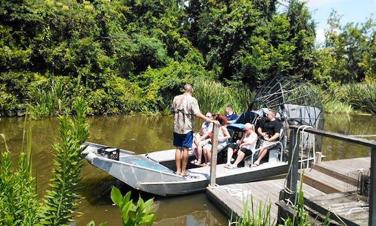 Airboat / Planation Tour In Louisiana