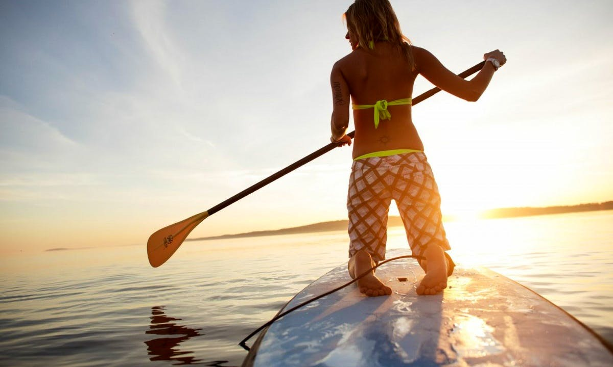 Paddleboard Rental & Lessons in Half Moon Bay, California