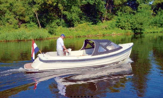 Waterspoor 707 Electric Boat Hire In Hohen Neuendorf