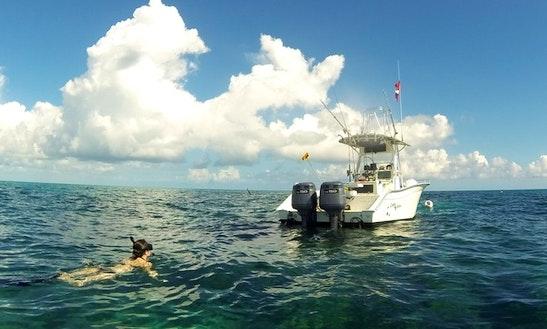 24' Center Console Fishing Trips In Marathon, Florida