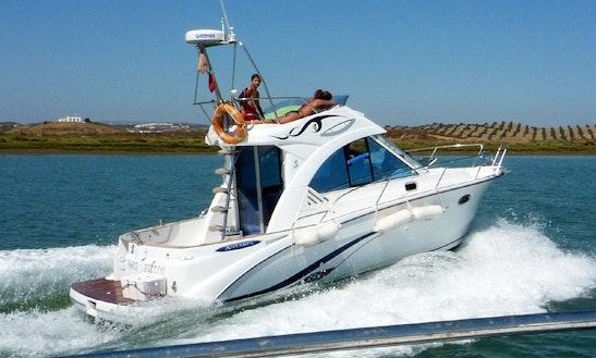 34' Sport Fisherman Fishing Trips In Isla Cristina, Spain