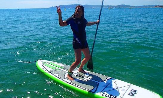 Paddleboard Rental & Lessons In Malgrat De Mar, Spain
