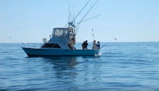 Deep Sea Fishing Vacation In Tamarindo