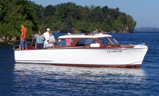 27' Head Boat Fishing Trips In Clayton, New York
