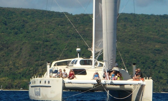 Cruising Sailing Catamaran For Charter  In Port Vila And Throughout Vanuatu Islands