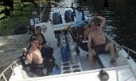 """Diving Trips On 29ft """"La Maria"""" Center Consle In Gaira, Colombia"""