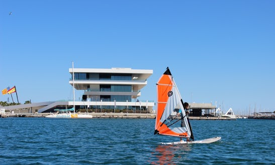 Windsurfing In Valencia, Spain