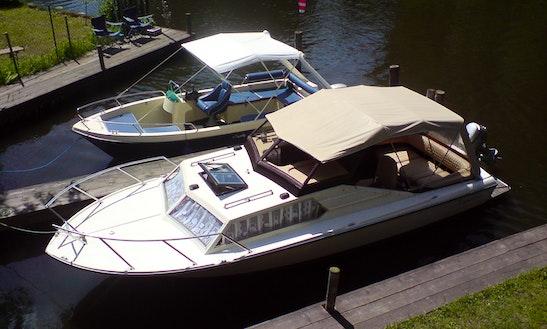 21ft Topolino Powerboat Rental In Berlin, Germany