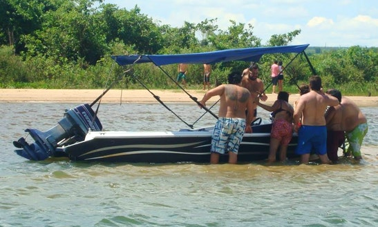 Fast Boat For Fishing Or Nature Exploration In Ilha Solteira