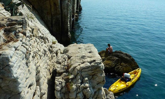 Deep Water Solo Trip - Only For The Brave In Split