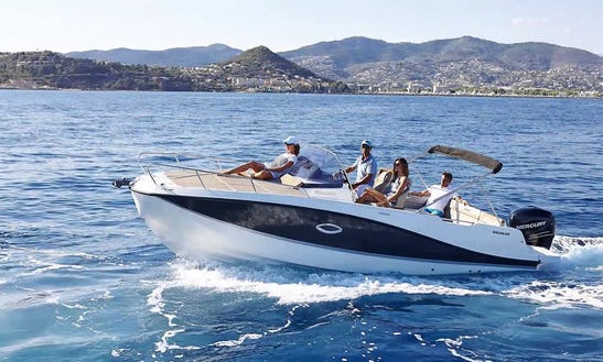 Hire For A Day Or A Week, Quicksilver Activ 755sd In Hvar