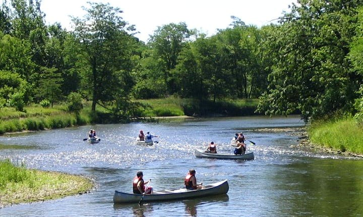 Canoe Trips On Kishwaukee River