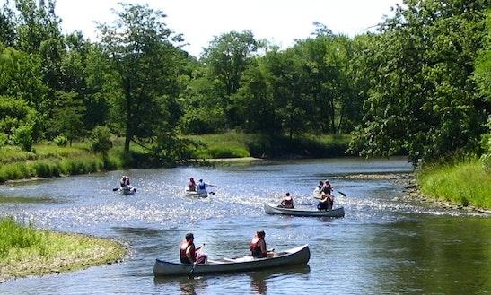 Canoe Trips On Kishwaukee River