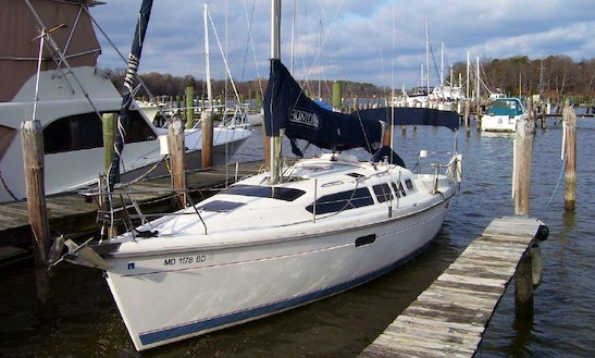 34' Hunter Cruising Monohull In Rock Hall, Maryland United States