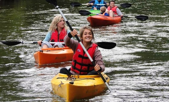 Single Kayaking Trips In Elk