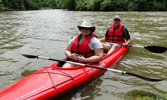 Tandem Kayaking Trips In Elk