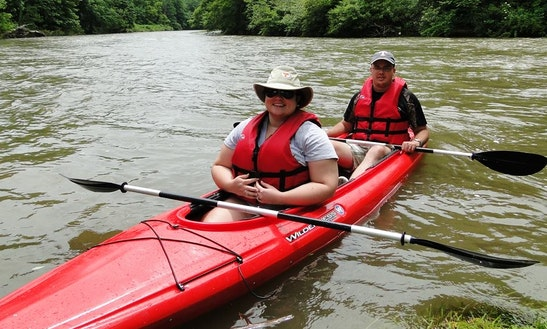 Tandem Kayaking Trips In Elk