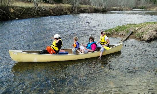Canoeing Paddle Trips In Elk