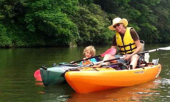 Fishing Kayak Trips In Elk