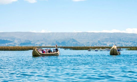Floating Island River Cruise On Lake Titicaca