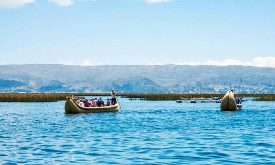 Floating Island River Cruise On Lake Titicaca