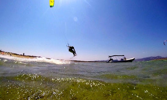 Kiteboarding In Paros