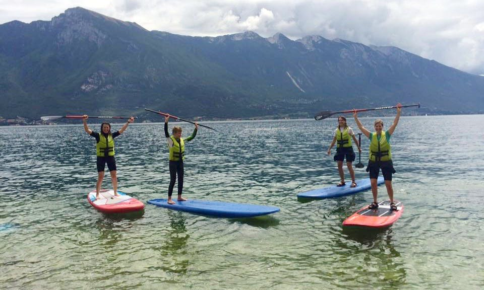 SUP Rental, Lessons & Tours in Limone sul Garda