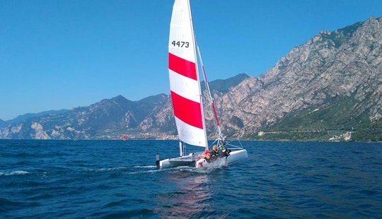 K1 Topcat Catamaran Rental & Lessons In Limone Sul Garda, Italy