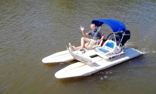 Rent Craigcats The Exciting Watercraft In Saugatuck Try It To Believe It!