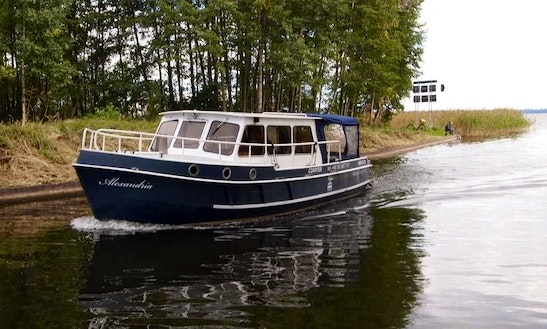 Hire Barkas Europa 900 Houseboat In Giżycko