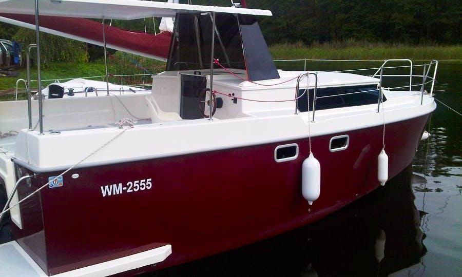 Rent Calypso 750 Houseboat in Giżycko