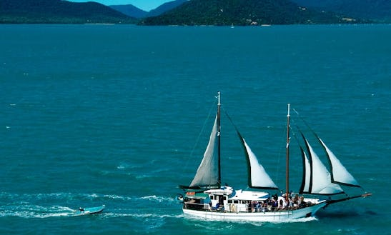 Charter The 69' New Horizon Sailing Schooner In Airlie Beach