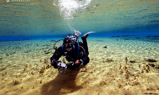 Dive In Silfra The Best Underwater Visibility In The World