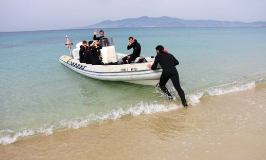 Scuba Diving Lesson And Trips In Naxos, Greece