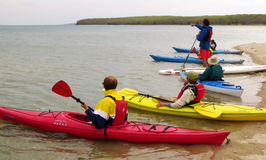 Single Kayak Lessons & Rental In East Hampton, New York