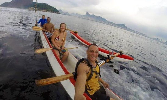 Polynesian Canoe For 5 People Or More, Pr. Flamengo, In Rio De Janeiro