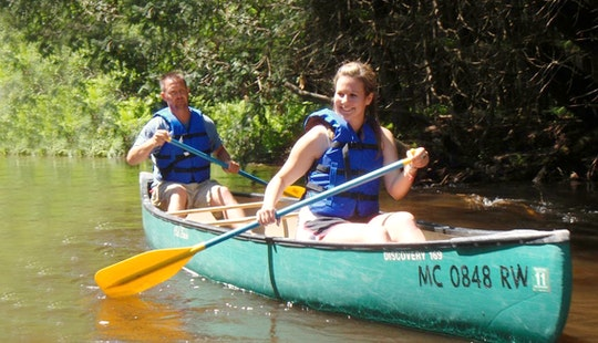 16' Old Town Canoe Rental & Trips In The Sturgeon River