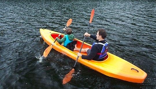 Tandem Kayak Rental & Trips In The Sturgeon River