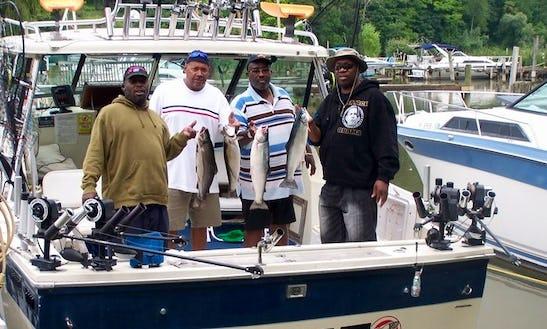 30' Baha Weekended Fishing Charter In Irondequoit