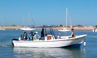 Rent the 23' Rigid Hull Motorboat in Chiclana de la Frontera