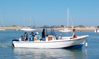 Rent the 23' Rigid Hull Motorboat in Chiclana de la Frontera