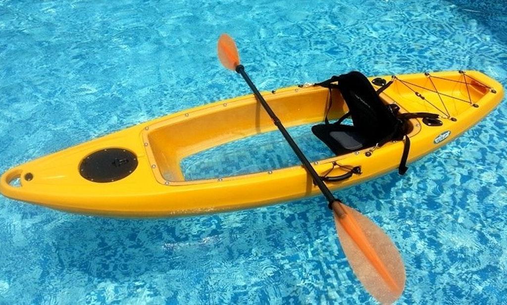 Bottom Clear Kayak