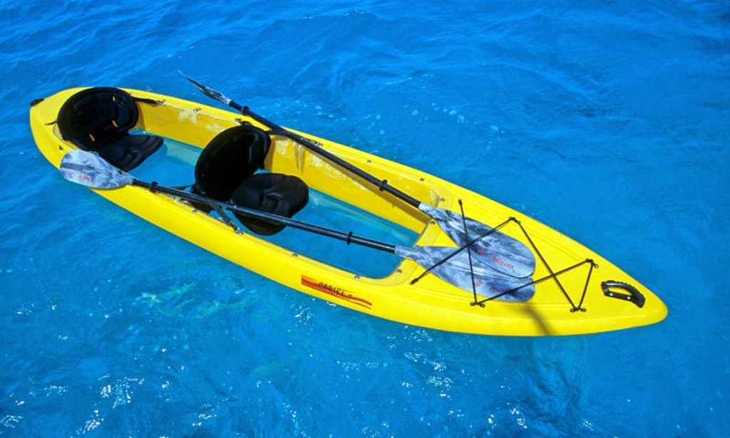Tandem Clear Bottom Kayak Rental In Key Largo Getmyboat