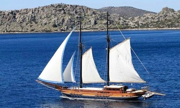 Lady Sovereign Gulet charter in Montenegro and South Dalmatia